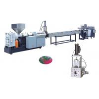 PP, PE, ABS, PC, PMMA Plastic Recycling Pellet Machine For Granular High Precision Manufactures