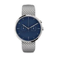 Ladies Watches Blue Face Stainless SteelCase , Ladies Silver Tone Watches Manufactures