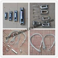 Diameter 10-20mm Cable grips,Cable Socks,length 1000mm Pulling grip Manufactures