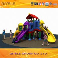 Quality CSA Children Playground Equipment With Rubber Coated Rot - Proof for sale