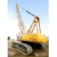 Adjustable Knuckle Boom Length 80m Hydraulic Crawler Crane 28 ton QUY80 for sale