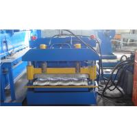 Buy cheap Automatic Glazed Tile Roll Forming Machine For Roof Sheet , 0.25mm - 0.8mm from wholesalers