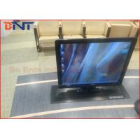 Carbon Steel Meeting LCD Motorized Lift Mechanism For 19 - 22 Inch Monitor Manufactures