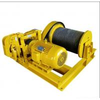 High speed electric winch 10 ton Manufactures