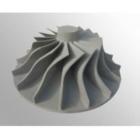 Vacuum High temperature nickel base alloy turbo turbine wheel investment casting Manufactures