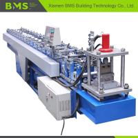 C Shaped Metal Stud And Track Roll Forming Machine 12-15m/Min High Stability Manufactures