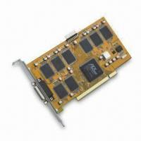 PCI Real-time 8CH DVR Card that Supports Still-image Capture for JPG Format, PAL/NTSC System Manufactures