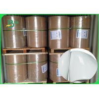Shiny Offset Glossy Coated Paper / Couche Paper 90GSM 100GSM Size 90 * 64CM Manufactures