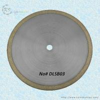 China Bronze Sintered Diamond Saw Blade for Cutting Glass and Gemstone - DLSB03 on sale