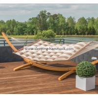 China 13ft  pillow top sleeping hammock two person soft polyester comfortable and durable on sale