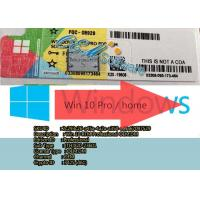 Upgrade Windows 10 Professional License Key Online Activation Win 10 Coa Sticker Manufactures