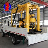 water well drilling machine/full hydraulic truck borehole drilling rig/automatic hydraulic drilling rig price Manufactures