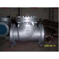OEM WCB / LCB / LCC case steel swing check valve, class 150 / 300 / 600 Manufactures