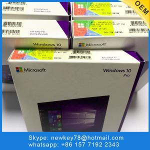 System Builder Windows 10 Pro OEM Key 64 Bits 3.0 USB Flash Drive Software Manufactures
