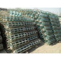 China 70kn Toughened Glass Disc Insulator , High Voltage Glass Electric Line Insulators on sale