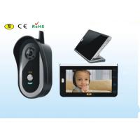 2.4ghz Colour Residential Video Intercom Wireless With Touch Button Manufactures