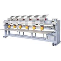Avance Six Head Embroidery Machine , Commercial Computerized Embroidery Machine Manufactures