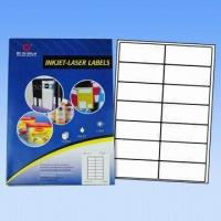 Computer Labels/Avery Labels, Used for Lasers and Inkjet Printers, Customized Sizes Accepted Manufactures