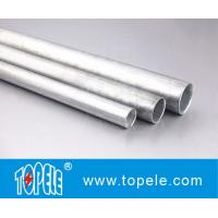 EMT Conduit And Fittings Carbon Steel Galvanised Tube , Electrical Metallic Tubing Manufactures