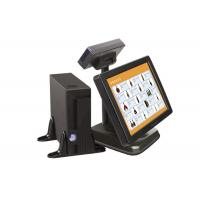 15 Inch Interactive Touch Screen POS Terminals with Cuctomer Display Manufactures