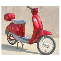 Hand Brake 350w Electric Moped Bike With Permanent Magnet Brushed DC Motor Manufactures