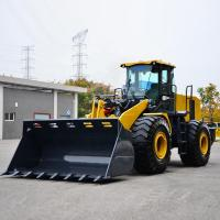Construction 4 Wheel Drive Loader 7 Ton LW700KV 4.2m³ Capacity Weichai Engine Manufactures