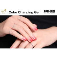 Easy Peel Off Colour Changing Gel Nail Polish , Heat Sensitive Nail Polish Manufactures