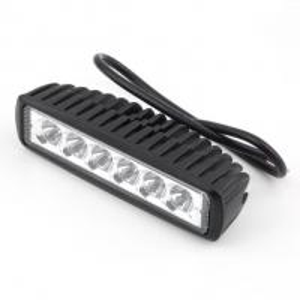 Worthtrust Slim 18W LED Car Work Light Bar for Truck/SUV/ATV