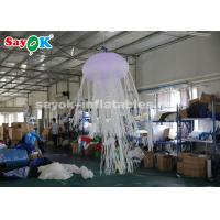 1.5m Glowing with 16 Colors Inflatable Hanging Jellyfish Inflatable Lighting Decoration Manufactures