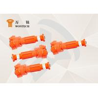 Low Air Consumption DTH Hammer Bits Fast Drilling Speed Stable Function Manufactures