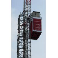 Durable Single Cage Building Construction Material Hoist Lift High Speed Manufactures