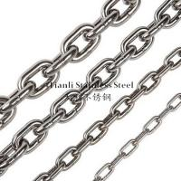 China DIN 766 Transmission Stainless Steel Link Chain Diameter 14mm 1.25KN-160KN on sale