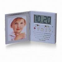 China Digital Talking Portrait Recording Travel Alarm Clock, Message and Beep Alarm on sale