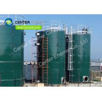 Glass Fused To Steel Bolted Sludge Storage Tank Chemical Resistance Manufactures