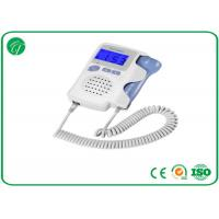 Professional Ultrasonic Fetal Doppler Machine Earphone CE / FDA Approved Manufactures