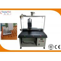 Non - Blocking Nut Crashing Chute Screw Tightening Machine With 0.01mm Precision Manufactures