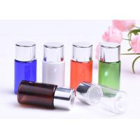 Portable Plastic Lotion Bottles , Multi Colors Empty Plastic Bottles Aluminum Cap Manufactures