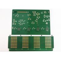 Green Soldermask Custom Printed Circuit Board 1.6MM Thickness With Immersion Gold/ HASL Manufactures