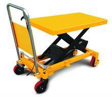 Safety Heavy Duty Scissor Lift Table , Hydraulic Scissor Platform Lift For Workshop Manufactures