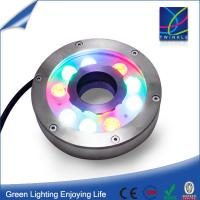 IP68 RGB led underwater light for swimming pool Manufactures