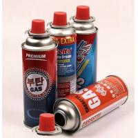 China Aerosol tin can for butane gas and refillable aerosol empty spray butane gas mini aerosol can on sale