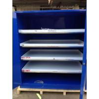 Safety Corrosive Storage Cabinets , Grounding Flammable Cabinets For Acid Liquid Manufactures