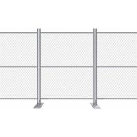 GBW Chain Link Fence Fabric Temp Portable Panels & Barricades 11-1/2 Gauge Manufactures