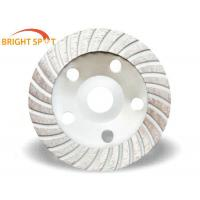 Buy cheap Diamond High quality Continuous Turbo Cup Grinding Wheel / Saw Blade from wholesalers