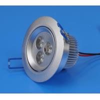 China Cool white 3W 270lm Φ70 Recessed LED Downlight / Ceiling Lamp for Home, Office Lighting on sale