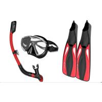 Quality Wide - Field Diving Snorkel Set Innovative Water - Air Separated Anti Fogging for sale