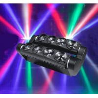 Professional 8* 10W  Mini LED Spider Light Beam Moving Head Light  For   X-68A Manufactures
