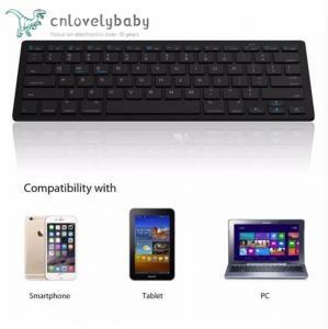 Buy cheap Ultra-slim Wireless Keyboard Bluetooth 3.0 Keyboard Teclado for Tablets / from wholesalers