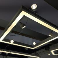 Durable Linkable Aluminium Led Linear Trunking Light System 20w 40w 60w 80w Manufactures