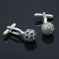 Nickel-/Lead-free Black Metal Alloy Cufflinks with Optional Rhodium-, Gold or Silver-plated Finish Manufactures